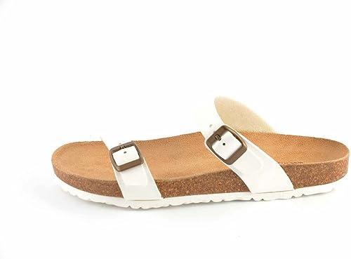 Le Clare Men's Flip Flop Cork Sandals