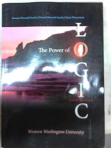The Power of Logic Western Washington University Edition