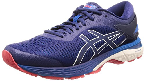 Multicolore Homme 25 Blue de Kayano Indigo Running Asics Chaussures Cream 400 Gel 4Aq0wOqp