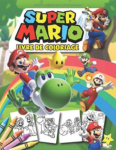 Amazon Fr Super Mario Livre De Coloriage Livre De Coloriage Special Pour Les Fans Channel Relaxing Livres