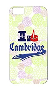 Rugged I Like Cambridge Heart Lines Of Hand Cities Countries TPU Case For Iphone 5c Navy