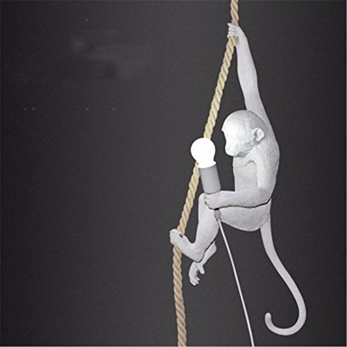 JhyQzyzqj Pendant Lights Chandeliers Ceiling Lights Post-modern monkey hemp cartoon tree creative coffee shop children's bedroom bedroom table lamp wall lamp standing light,680 320 320MM
