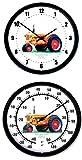 "New 1948 - 1952 Minneapolis Moline Model U Tractor 10"" Round Clock & Thermometer Set"