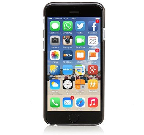 ArktisPRO Hülle Original Premium Hardcase für Apple iPhone 6 schwarz