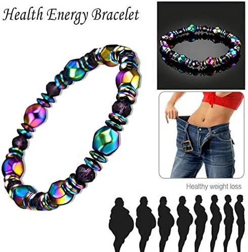 Bio Magnetic Healing Therapy Bracelet Arthritis Hematite Weight Loss Pain Relief