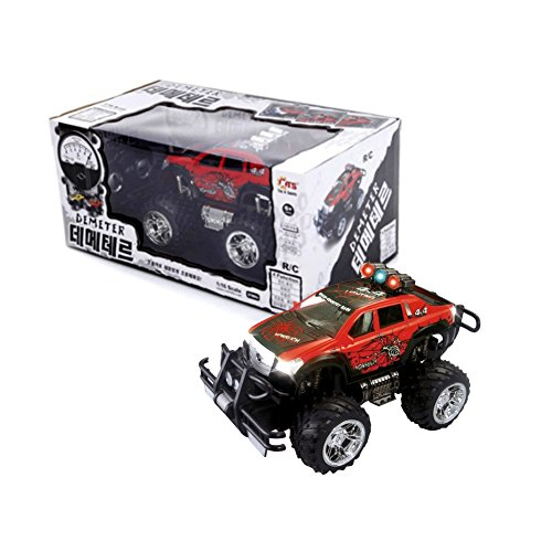 KTS 1/16 Demeter RC 27Mhz Radio Control Car Electric Remote Control Kids Toy (Red)