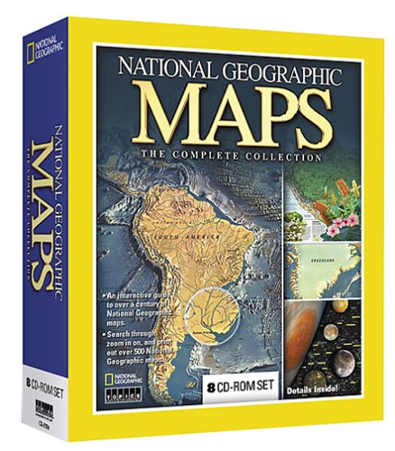 Amazon national geographic maps the complete collection national geographic maps the complete collection gumiabroncs Gallery