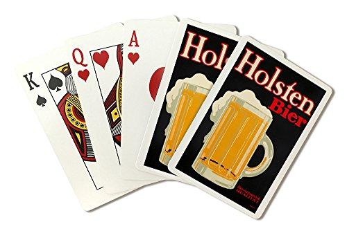 holsten-bier-vintage-poster-artist-klinger-germany-c-1916-playing-card-deck-52-card-poker-size-with-