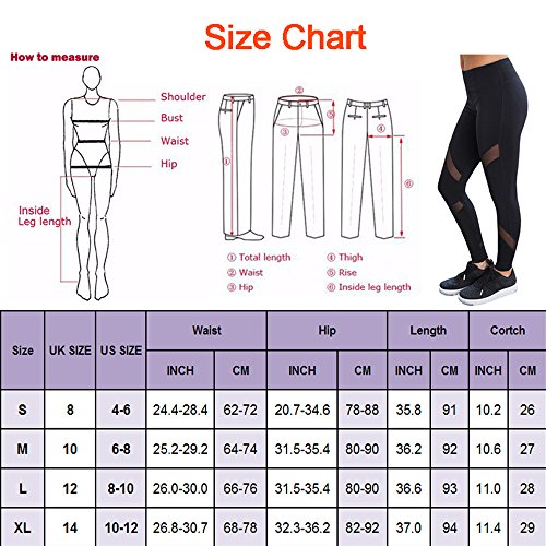 CROSS1946 Sexy Women's High Waist Sexy Skinny Patchwork Thigh Mesh Yoga Pants Leggings Soft Fitness Capris
