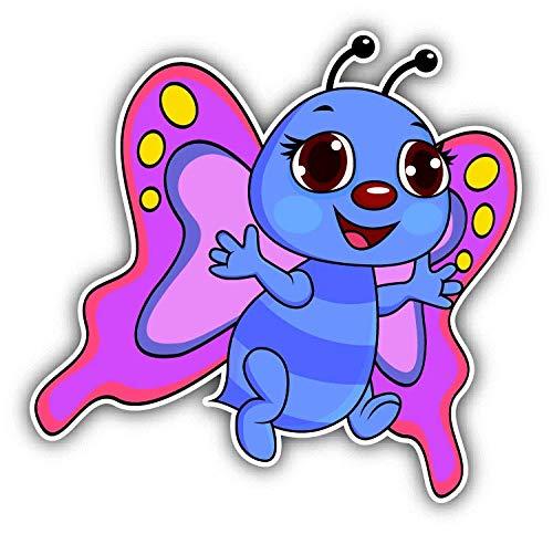 Magnet Butterfly Chubby Funny Cartoon Window Truck Car Vinyl Flexible Magnet Magnetic Bumper Sticker 5