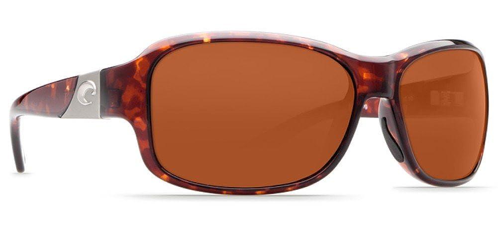 Copper 580Glass Costa Del Mar Inlet Sunglasses Tortoise