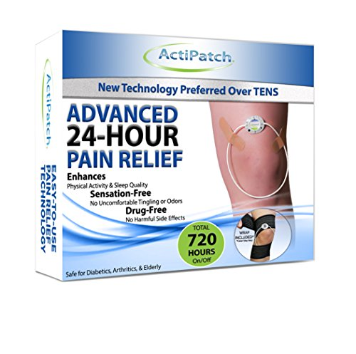 Advanced 24-Hour Knee Joint Pain Relief Device | FDA Cleared Natural Sensation-Free Pain Relief Device | by ActiPatch by Actipatch