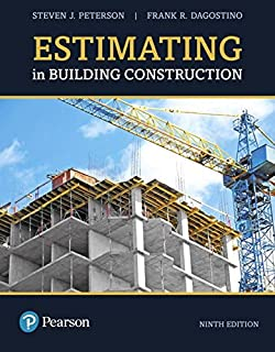 Estimating in building construction steven peterson frank estimating in building construction 9th edition whats new in trades technology fandeluxe Gallery