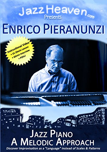Jazz Piano Lesson DVD Enrico Pieranunzi Jazz Piano A Melodic Approach Exercises Improvisation Technique Lessons