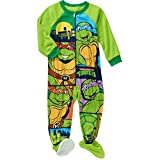 5t ninja turtle pajamas - TMNT Toddler Little Boys Footed Blanket Sleeper Pajama (5T)