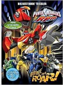 Power Rangers Rumble and Roar