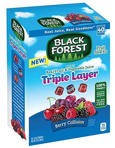 Black Forest Fruit Snacks Berry Collision - Pack of 40