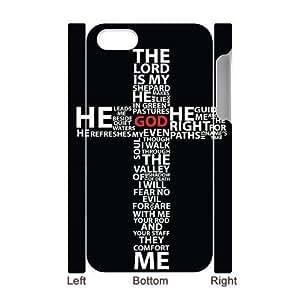 ALICASE Diy 3D Protection Hard Case Jesus Christ Cross For Iphone 5C [Pattern-1]