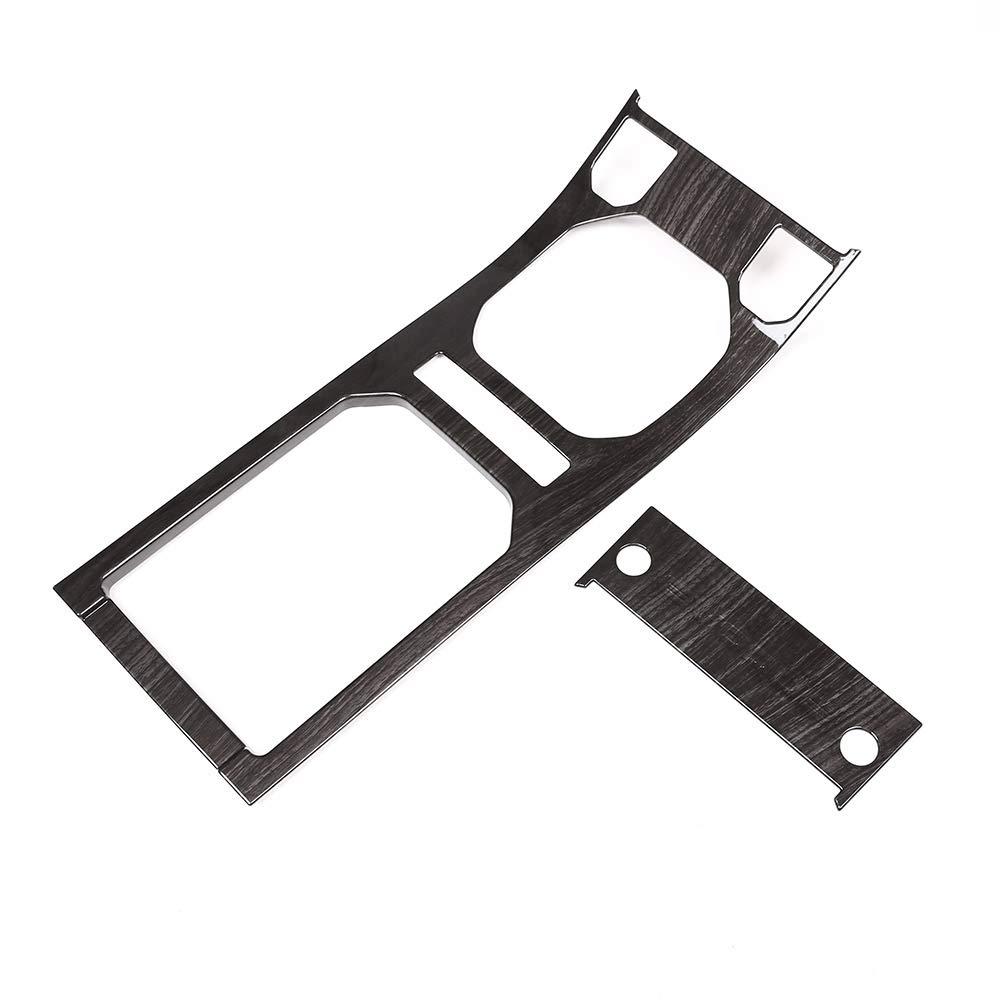 DIYUCAR ABS Car Interior Center Console Decoration Panel Cover Trim For RR Evoque 2012-2019 without CD function Carbon fiber