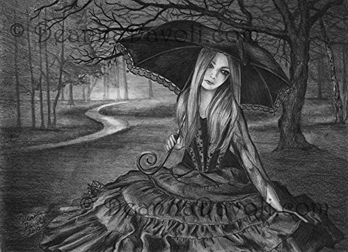Amazon.com Vampire Art Fantasy Art Print Gothic Art