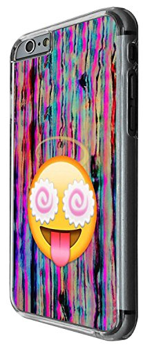 1308 - Cool Fun Trendy cute kwaii colourful emoji apps emoticons hearts smiley face funny Design iphone 5 5S Coque Fashion Trend Case Coque Protection Cover plastique et métal - Clear