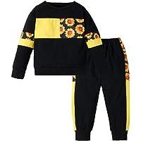 LZH Chándal Niña Larga Impresión Cordón Chaqueta + Deporte Pantalones Conjunto Trajes …