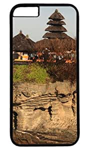 Bali Island Temple of The Sea Case for iPhone 6 PC Black by Cases & Mousepads