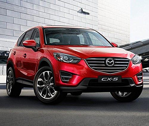 Mazda CX-5 Original OEM puerta umbral de la entrada Trim Scuff Plate 2013 - 16 juego de 4 pcs: Amazon.es: Coche y moto