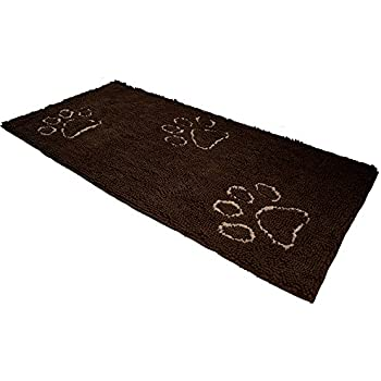 Dog Doormat Runner For Dirty Dogs 30 Inch By 61 Inch, Microfiber Absorbent