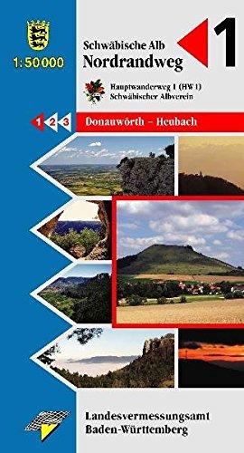 Schwäbische Alb Nordrandweg: Hauptwanderweg 1 (HW1)