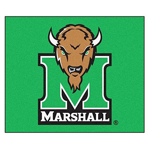 (FANMATS NCAA Marshall University Thundering Herd Nylon Face Tailgater Rug)
