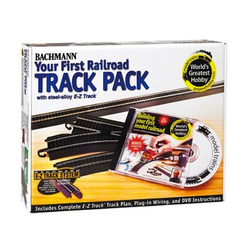 Bachmann Trains Snap - Fit E - Z Track Steel Alloy World's Greatest Hobby Track Pack from Bachmann Trains