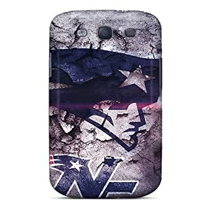 DateniasNecapeer Cases Covers Protector Specially Made For Galaxy S3 New England Patriots wangjiang maoyi
