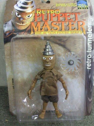 Retro Puppet Master Action Figure - RETRO TUNNELER - Puppet Master Tunneler