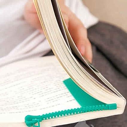 iktu novelty zipper bookmark page marker for book assorted colors