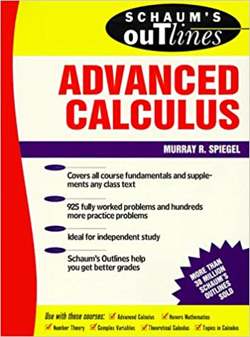 dwnld advanced calculus schaums outlines solution manual