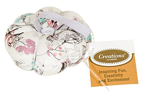 Creations Hummingbird Pin Cushion, Fabric, Pastel Colours Korbond 190091