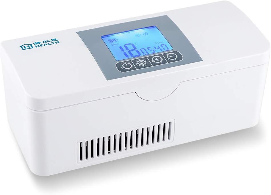 Reefer della droga della scatola da viaggio della scatola refrigerata portatile del dispositivo di raffreddamento dellinsulina mini per mantenere linsulina fresca