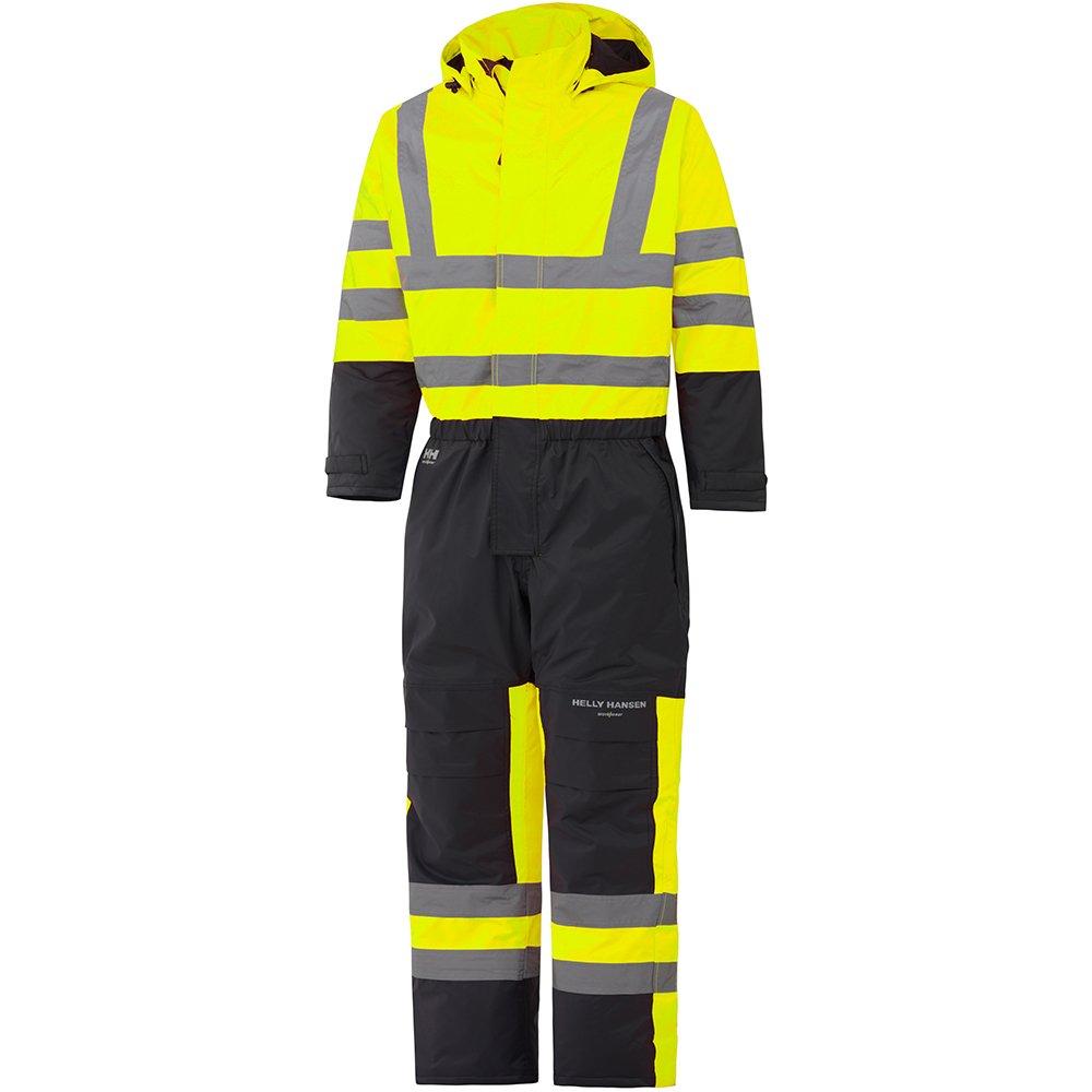 70665 Helly Hansen Workwear Warnschutz Wetterschutz-Overall Alta Suit CL3 wasserdichter isolierter Winter-Arbeitsanzug 269 44 orange