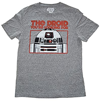 Star Wars The Droid You're Looking For R2D2 Adult Sized T-shirt