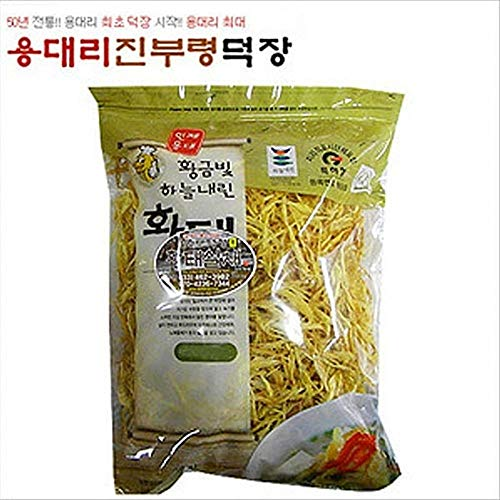 Dried Fine Shredded Pollack 500g The Traditional Way 4 Months Natural Drying, Korea by Jinburyeong