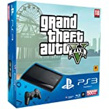 Sony Playstation 3 500Gb Super Slim Console With Grand Theft Auto V (PS3) [Importación Inglesa]