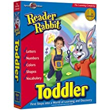 HB Reader Rabbit Toddler 2002 (PC and Mac)