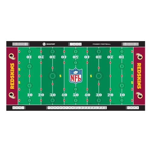 Zelosport NFL Finger Football - Washington Redskins
