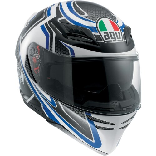 AGV Horizon Full Face Motorcycle Helmet Racer Blue Large L