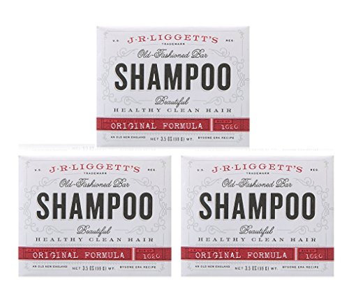 J.R.LIGGETT'S Shampoo-Original Old-Fashioned Bar - 3.5 Oz (Pack of - Original R