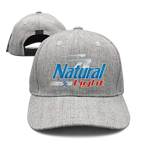 uter ewjrt Adjustable Natural-Light-Beer-Logo- Trucker Hat Style Sports Caps (Natural Light Logo)