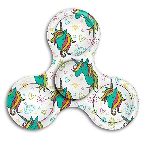 Pony Spinner - Colorful Unicorn Adults & Children High Speed Tri-Spinner Hands Spinner Fidgets Fingertip Finger Toy Bearing Toy