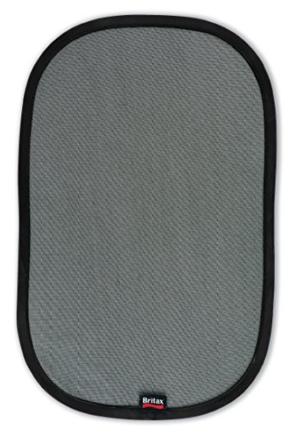 Britax EZ-Cling Window Sun Shades, Black, 2 Count