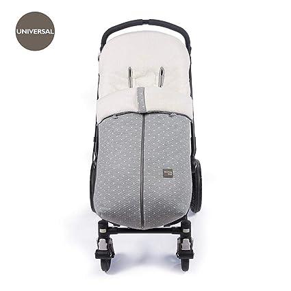Walking Mum - Saco de invierno gaby para silla de paseo universal gris